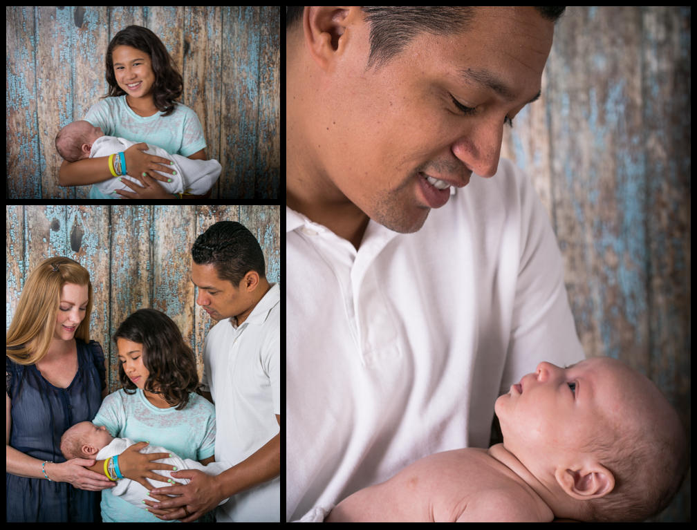 Family Portrait in the Studio - Chickpea Photography